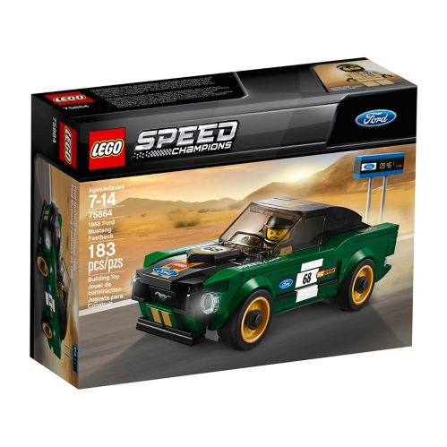 LEGO® Speed Champions 1968 Ford Mustang Fastback - 75884