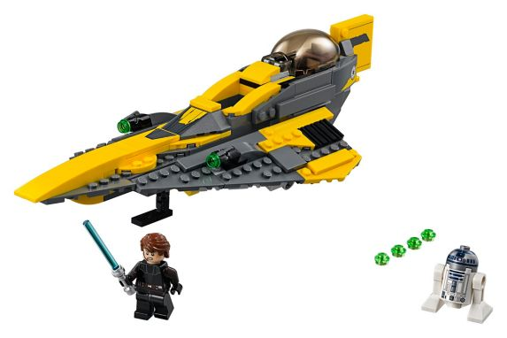 LEGO® Star Wars Anakin's Jedi Starfighter - 75214 Product image