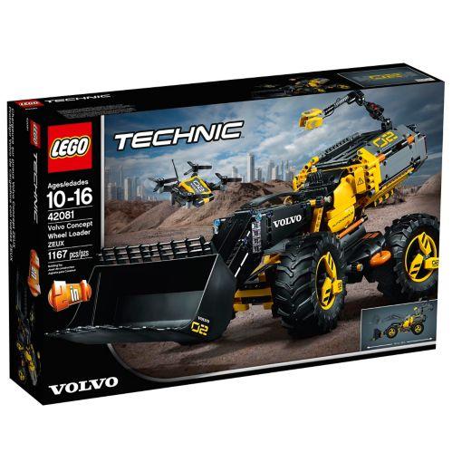 LEGOMD Technic, Le tractopelle Volvo Concept ZEUX - 42081 Image de l'article