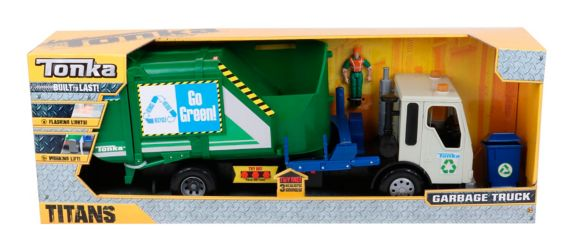 Tonka Titans Garbage or Firetruck, Assorted Product image