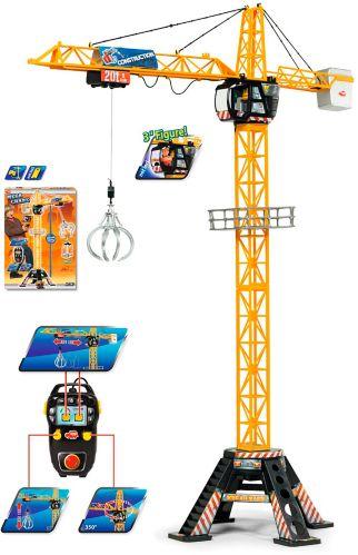 Grue de construction géante motorisée Dickie Toys, 48po