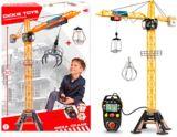 Grue de construction géante motorisée Dickie Toys, 48po | DICKIE TOYnull