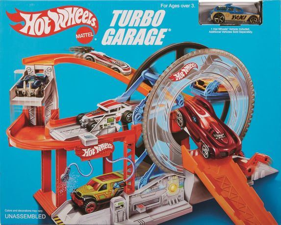 Garage Hot Wheels Retro Turbo Image de l'article
