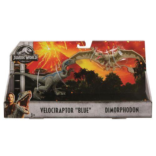 Jurassic World Attack Pack™ Dinosaur Figure, Assorted, 2-pk Product image