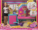 Coffret de jeu Barbie gymnaste sauts amusants | Barbienull
