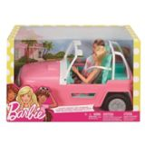 Barbie® Jeep with Two Dolls | Barbienull