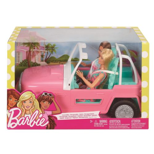 Barbie® Jeep with Two Dolls Product image