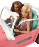 Jeep Barbie avec deux poupées | Barbienull