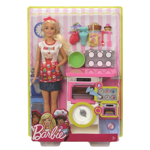 Barbie® Bakery Chef Doll & Playset Product image