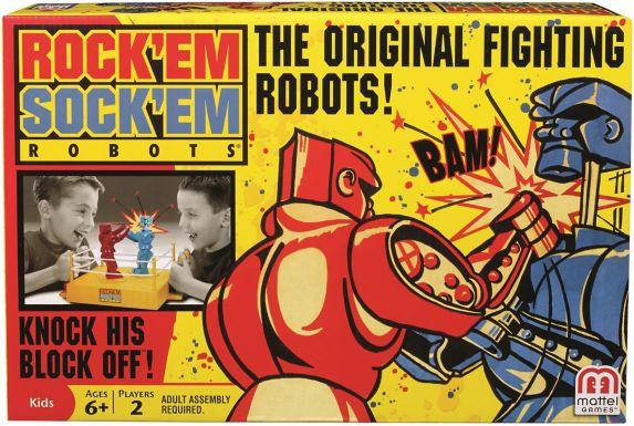 Jeu Rock 'Em Sock 'Em ROBOTS Image de l'article