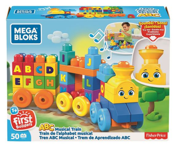 Mega Bloks® First Builders ABC Learning Train Playset, 50-pc Product image