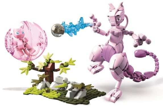 Mega Construx™ Pokémon Mew vs. Mewtwo Playset Product image