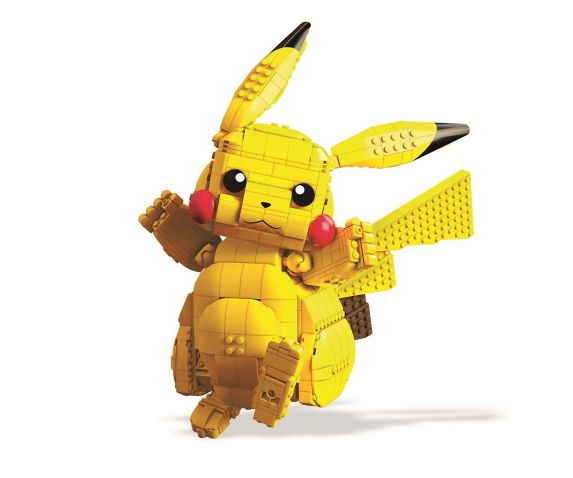 Mega Construx™ Pokémon Build-A-Pikachu, 12-in