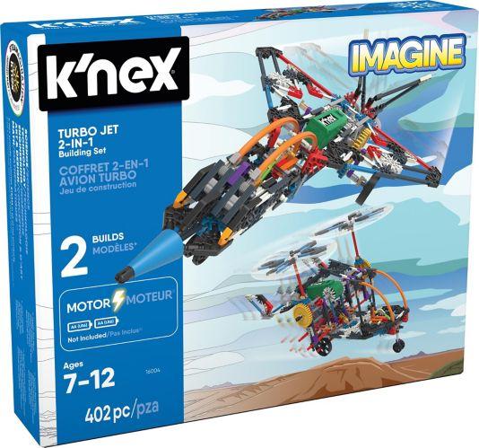 K'NEX Turbo Jet 2-in-1 Building Set, 402-pc Product image