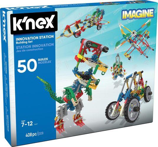 Coffret de construction Station d'innovation 50 modèles K'NEX Imagine, 408 pièces Image de l'article