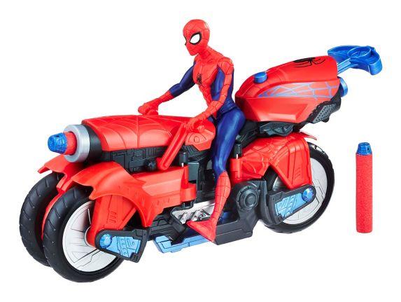 Moto-araignée Marvel Spider-Man 3-en-1, choix variés, 6 po Image de l'article