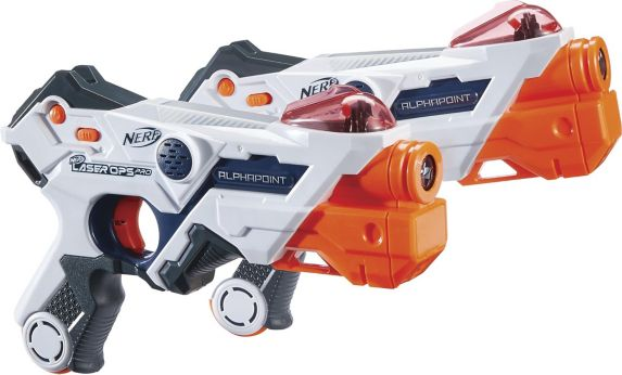 NERF Laser Ops Pro AlphaPoint Blaster, 2-pk Product image