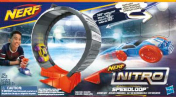 NERF Nitro Speedloop Stunt Set Product image