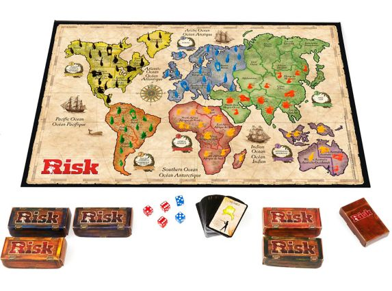 Jeu Hasbro Risk Image de l'article