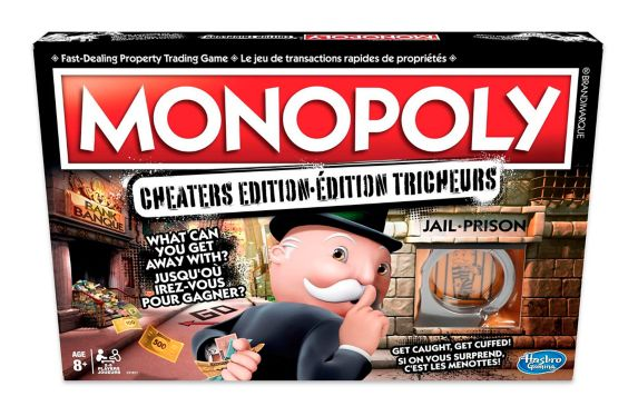 Hasbro Monopoly Cheaters Edition Game Product image