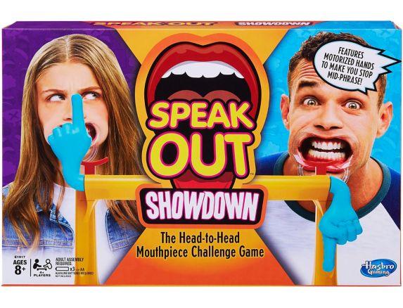 Jeu Hasbro Mâche Mots Le duel, anglais  Image de l'article