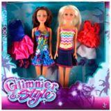 Glimmer & Style Fashion Dolls Set, 2-pc | Glimmer and Stylenull