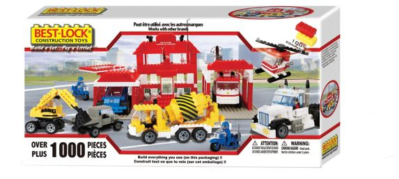 Best Lock Construction Toys, 1000-pc Product image