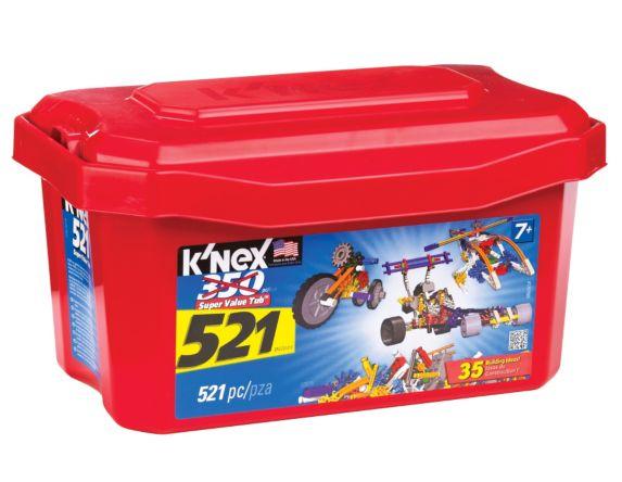 K'Nex Value Tub, 521-pc Product image