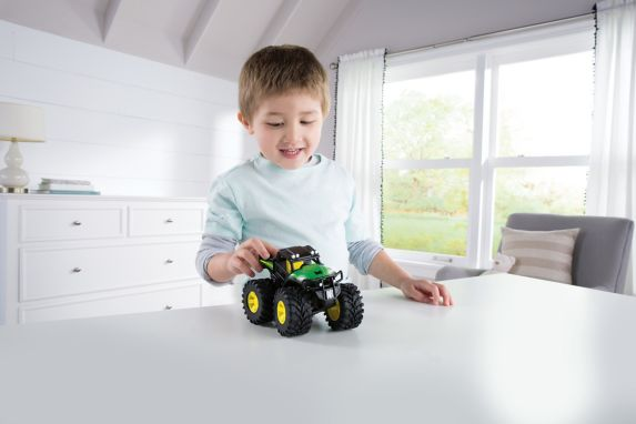 John Deere Monster Treads Shake & Sounds Tractor & Gator, 2-pk Product image