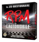Jeu RPM L'univers de l'automobile