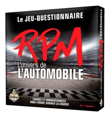 Jeu RPM L'univers de l'automobile Image de l'article