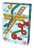 Jeu Serpents et échelles, anglais/français
