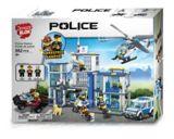 Dragonblok Police Station or Fire Station Building Set, Assorted