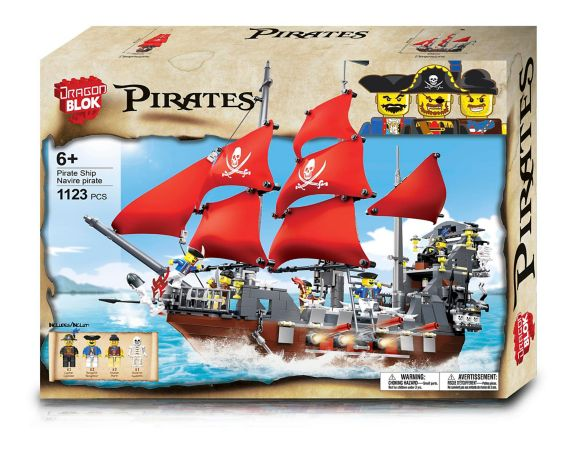 Dragonblok Pirate Ship Building Set, 1123-pc Product image