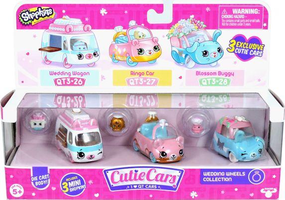 Shopkins Cutie Cars - Series 3, Assorted, 3-pk