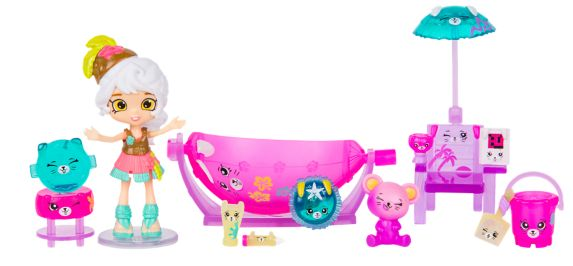 Coffret de jeu Shopkins Happy Places™ Maison de Plage Arc-en-ciel
