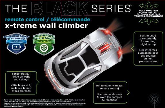 R/C X-Treme Wall Climber Car