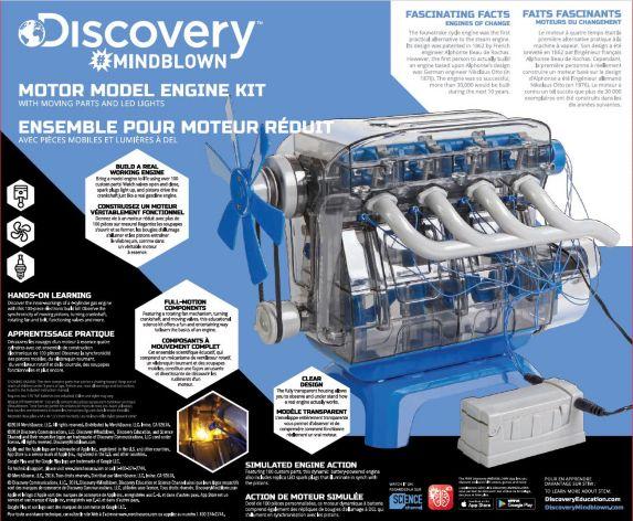 Trousse Discovery Moteur miniature Image de l'article