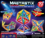 Cra-Z-Art Magtastix™ Balls & Rods Magnetic Construction Building Set, 70-pc | Incredible Novelties Incnull