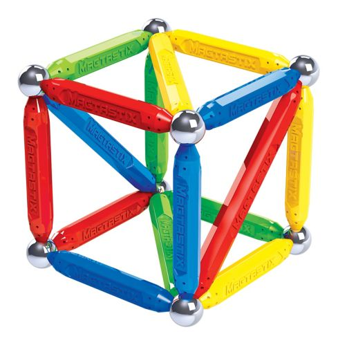 Cra-Z-Art Magtastix™ Balls & Rods Magnetic Construction Building Set, 48-pc Product image