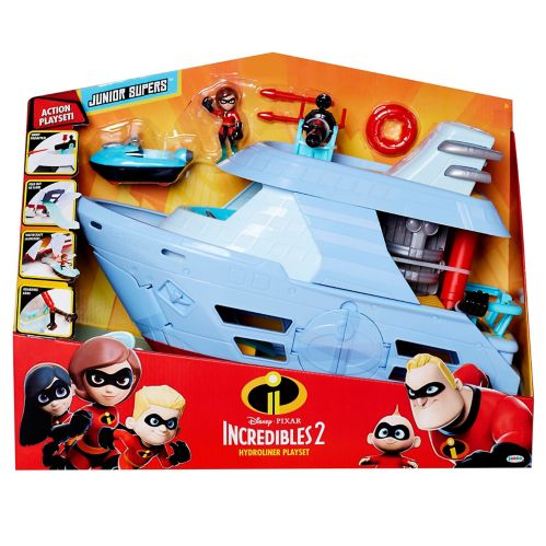Disney The Incredibles 2 Hydroliner Action Ship Playset Product image