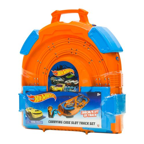 Hot Wheels® Carrying Case Slot Track Set