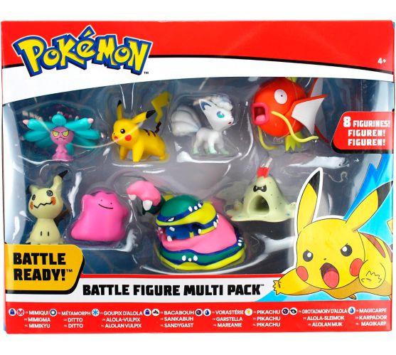 Figurines de combat Pokémon, choix variés, paquet multiple