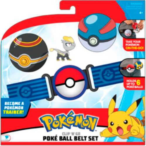 Ceinture pour Pokéballs Pokémon Clip 'N' Go, choix variés Image de l'article