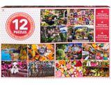 Cardinal Adult Puzzles, Assorted, 12-pk | Vendor Brandnull