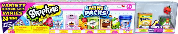 Coffret variété de Mini emballages Shopkins Saison 10 Image de l'article