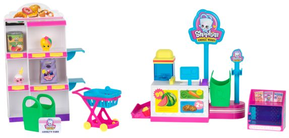 Shopkins Pick 'N' Pack Small Mart Playset - Seaaon 10 Product image