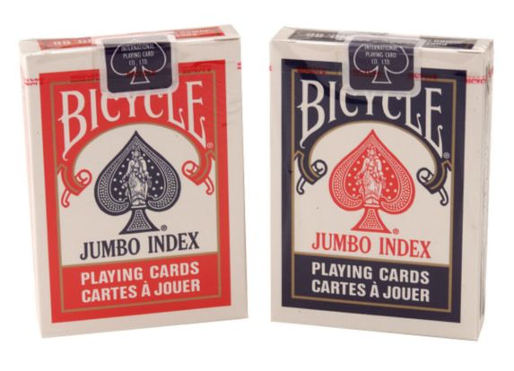 Bicycle Jumbo Index Cards