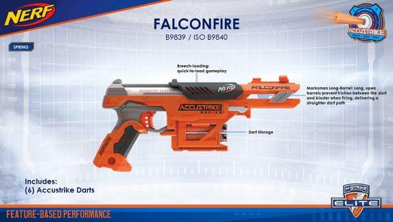 Nerf Elite N-Strike Accustrike Falconfire Product image