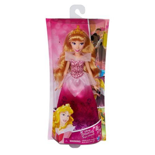 Poupée mode Princesse Disney en robe élégante de tissu moiré